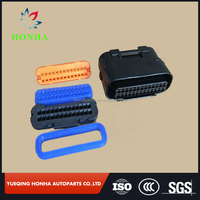 DJ7261A-1-21 PBT material ECU waterproof wire harness female auto 26 pin JAE connector