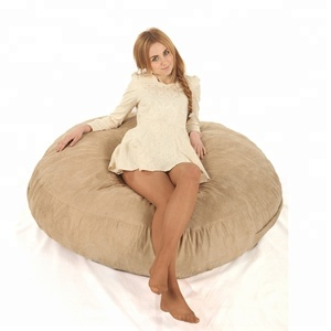 2017 giant foam filled bean bag confortable indoor beanbag bed sofa puff