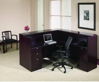 Credenza Moderna En Caoba : Diseño moderno de caoba muebles oficina mostrador