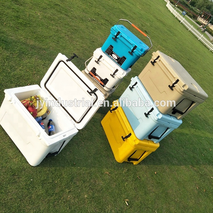Plastic Ice Chest/ Outdoor Cooler Box for Sale Rotomolding plastic material