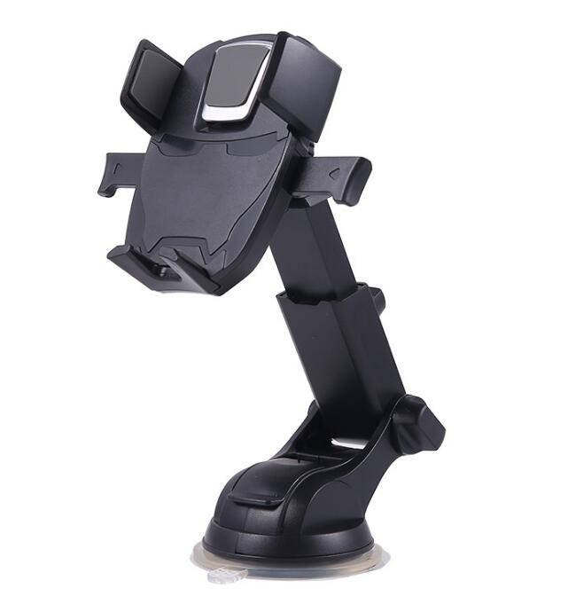 Alibaba.com / Universal telescopic arm automatic lock one touch car mobile phone holder on dashboard