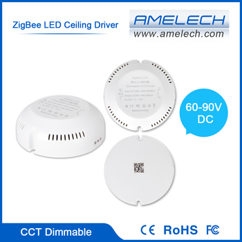 For Ceiling Light 1 2 Channel Cct Dimmable Zigbee Wireless Remote ...
