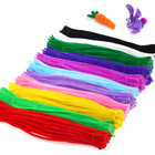 Colorful Pipe Cleaners Handmade DIY crafts chenille stems