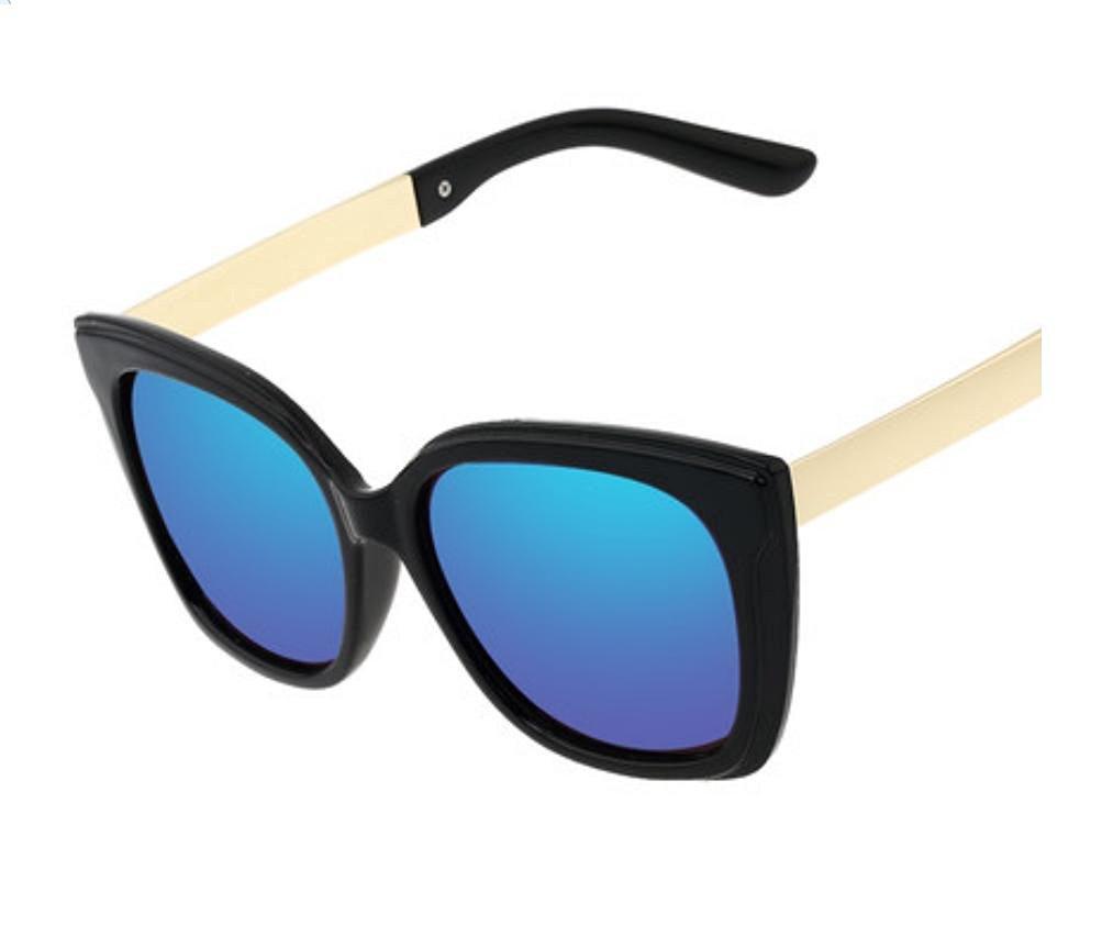 a727ae2fe Get Quotations · Ladies sunglasses retro fresh and colorful film Joker  myopia sunglasses