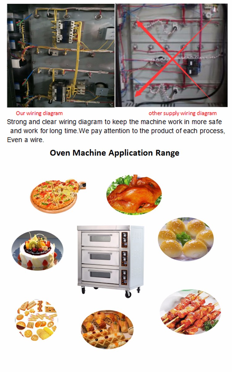 Commercial Electric Deck Bakery Oven Electrical For Diagram Pastry Equipment