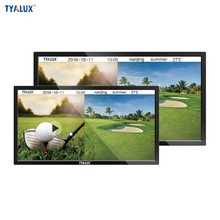 55 Inch excellent quality wall mounted advertising tv/information kiosk