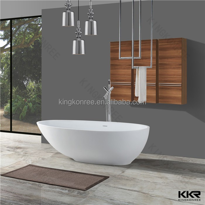 KKR good quality glaicer white freestanding baths for sale