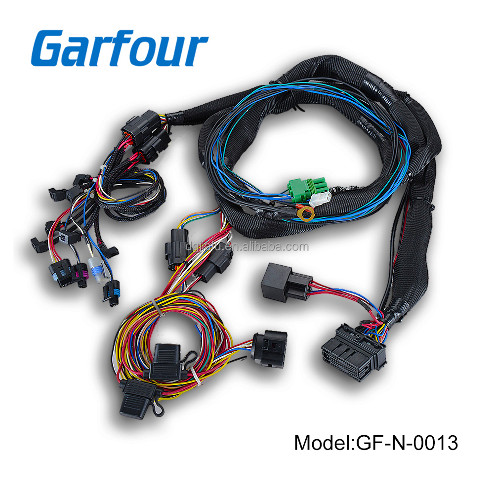 Automotive Asian Wiring Harness Connectors 42 Diagram Wire Supplier Suppliers Customized Car Modification V6 Engine Used