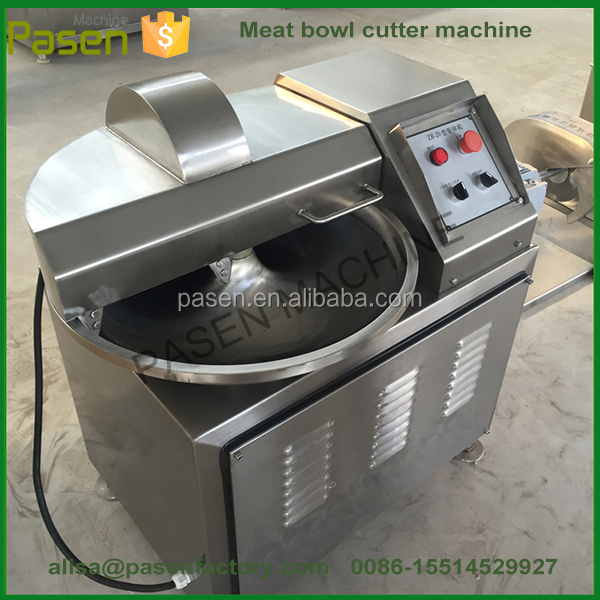 Stainless Steel Industrial Meat Chopper / Meat Processing Equipment / Meat Chopping Machine