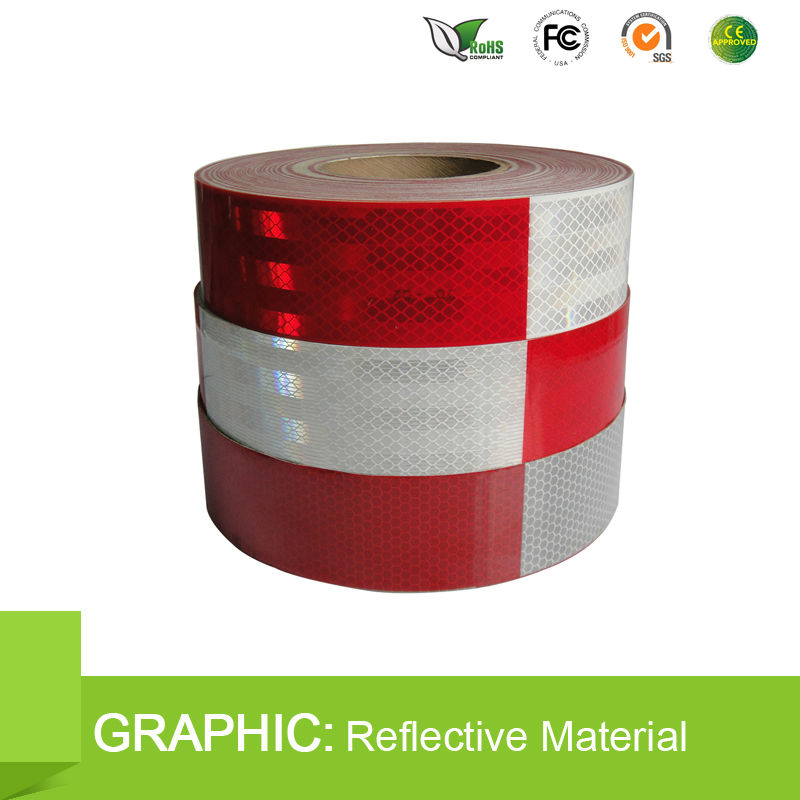 5 Year Durability Cheap Warning Reflective Tape Retail Guangzhou Logistics Center