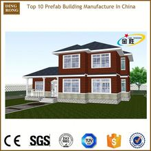 two-storey duplex kit set manufacture price pre fab homes house
