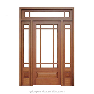 Double Entry Door With Transom Whole