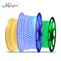 Wholesale price LED Tape Light LED power 220V smd 5050 led strip light