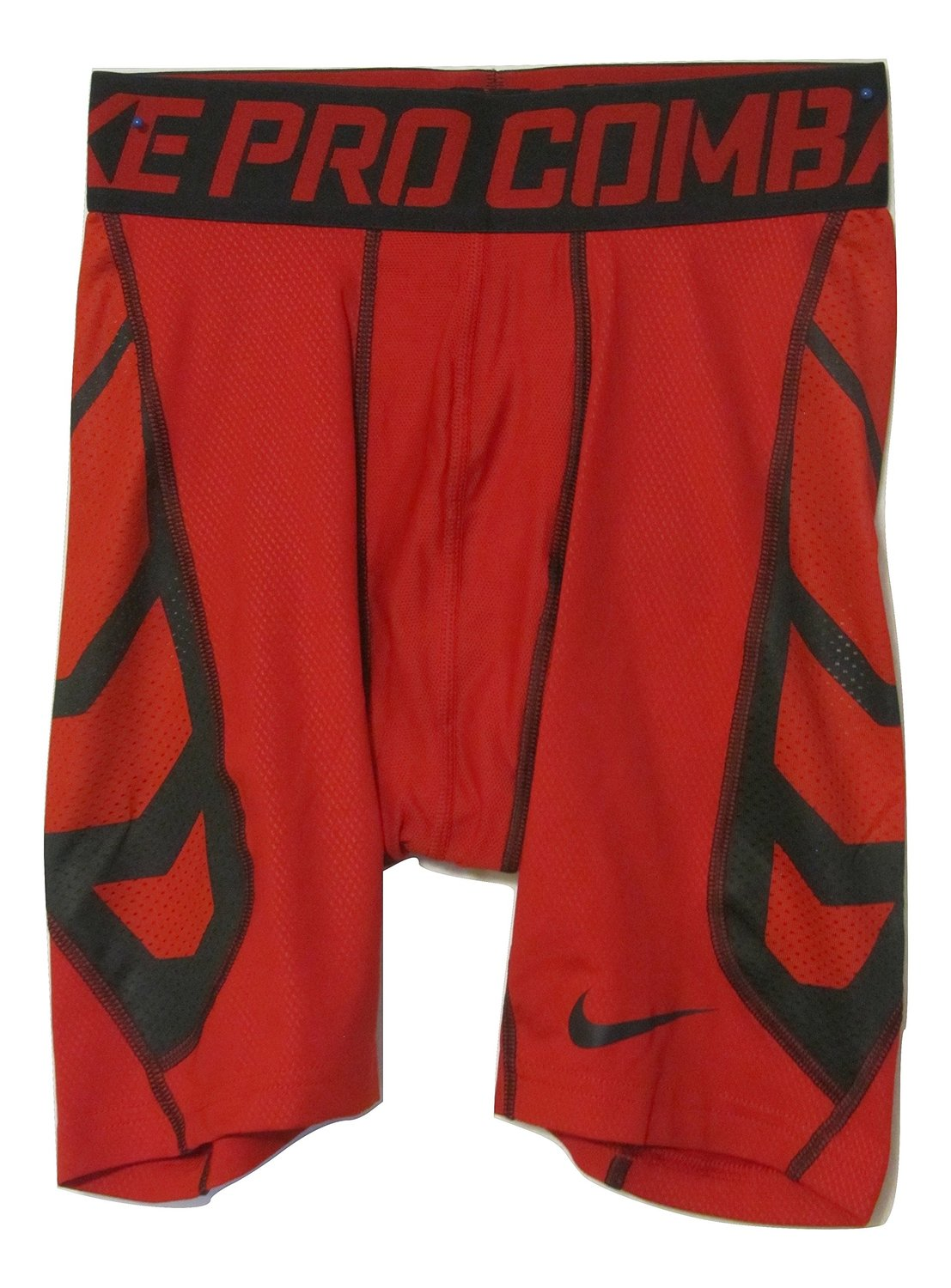 Nike Pro Combat Men's Hypercool Compression Red Shorts