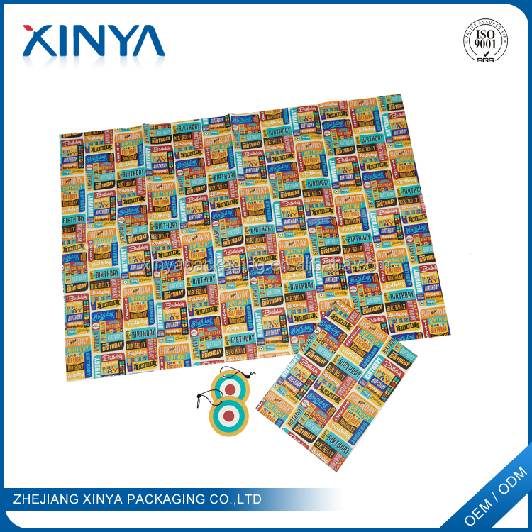 XINYA Hot Selling Products Different Types Of Fresh Flower Gift Wrapping Paper