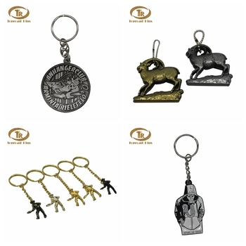 Zhongshan supplier free artwork fashion custom design souvenir luxury keychain