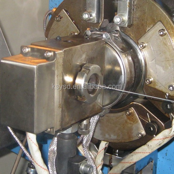 wire coating extruder crosshead from Kunshan Mould Factory