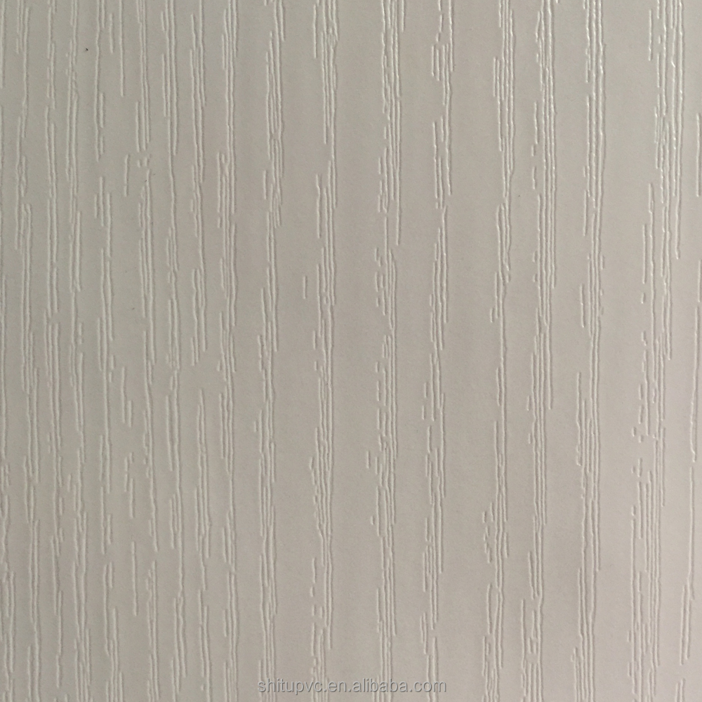 PVC Decorative Foil for Furniture/Cabinet/Door angel white