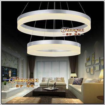 Schon Modernen Hängenden Led Ring Pendelleuchte Für Wohnzimmer Dekoration  Md5060 2r
