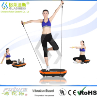 Gladness Factory Massage Fat Burning Personal Fitness Vibration Plate Increase Muscle Tone Core Strength Training