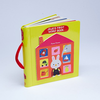color English reading hardcover children book printing