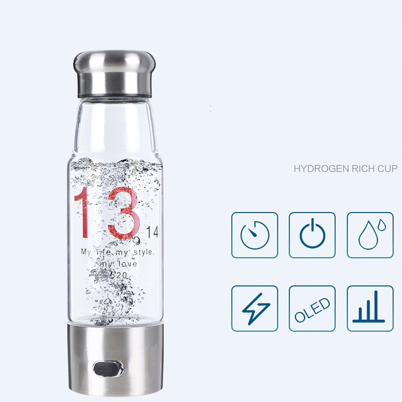 Negative ORP ionized water japan with hydrogen pem membrane hydrogen water machine increasing your body's hydration levels