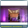 luxury China stainless steel pipe and drape round/event tent /ceiling drapery for wedding