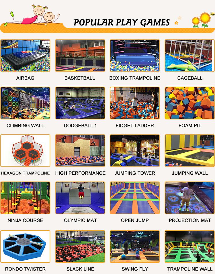 Preços baratos Indoor Mini Trampolim Park, Crianças Pequenas Trampolim Parque Interior, Praça Mini Pequeno Trampolim Park