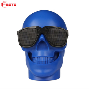 New Products Skull Bluetooth Speaker Wireless Portable Stereo Mini Bt Speakers Outdoor Speaker With Bluetooth#