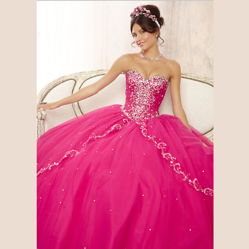 Fuschia Quinceanera Dresses Promotion-Shop For Promotional