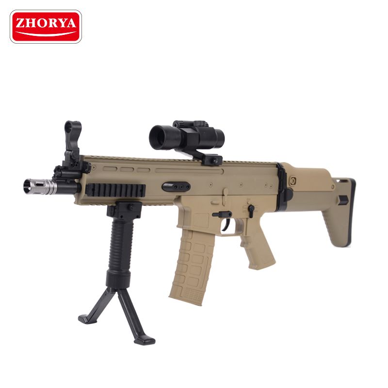 Zhorya wholesale powerful battery operated water bullet plastic toy gun for sale