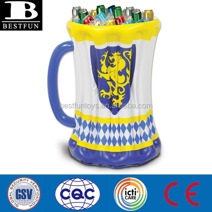 Oem Pvc Beer Stein Inflatable Wine Coolers & Chillers Wine ...