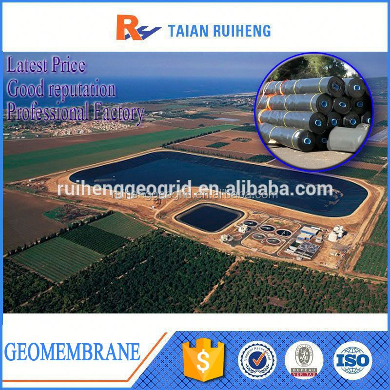 Waterproof Geomembrane Fish Tank 2mm HDPE Pond Liner