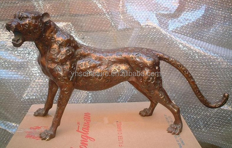 life size bronze Panther Statue