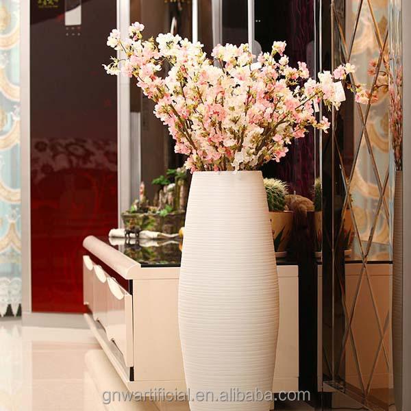 Bt001 gnw artificial flor de cerezo rama tan altos wedding ...