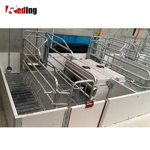Galvanized High Quality Hog Swine Crates Pig Farrowing Pen for Stalls