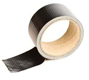 (1152 Rolls) 3/8 Inch x 60 Yards Poly Black Strapping Tape Adhesive shield Tapes
