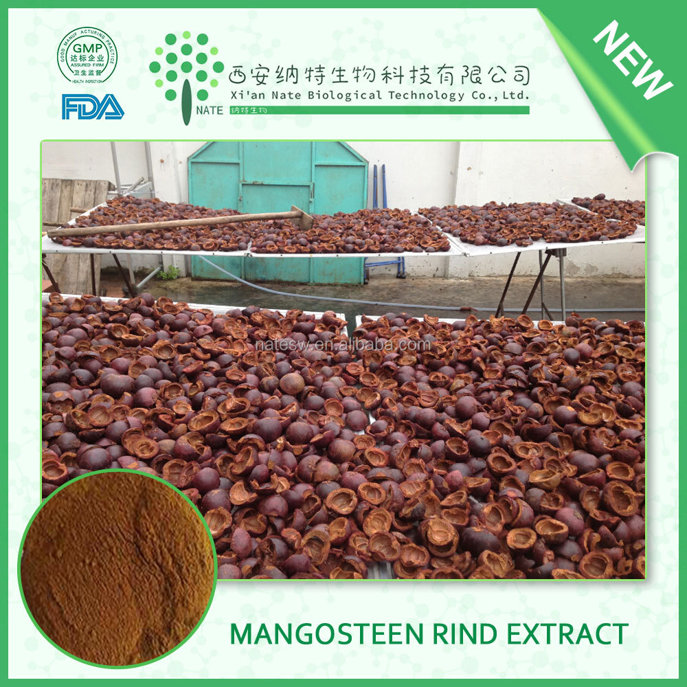 High quality Pure 100% Mangosteen rind powder,Mangosteen peel powder,Mangosteen bark powder