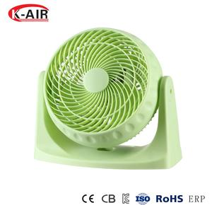Smart portable 8inch table desk fan wall mounted fan air circulator fan with 90degrees up & down adjustment