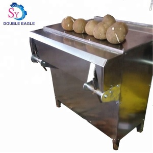full-automatic dry coconut unshelling machine/ coconut hard dried shell peeling machine