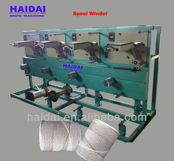 Leading 6 Heads Nylon Twine Spool Winder Machine For Sale
