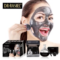 Hot Sale DR RASHEL best effective Black peel off Face Mask Skin Care Blackhead Remover Magnetic Mud Collagen Facial Mask