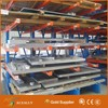 CE certified vertical pipe material storage shelf portable