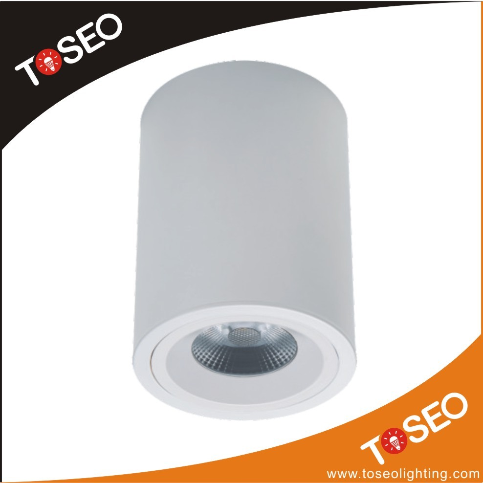 round surface mount pure aluminium led recessed light