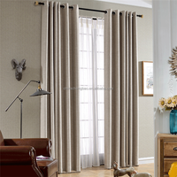 2016 new metal eyelets curtain accessory day and night curtain
