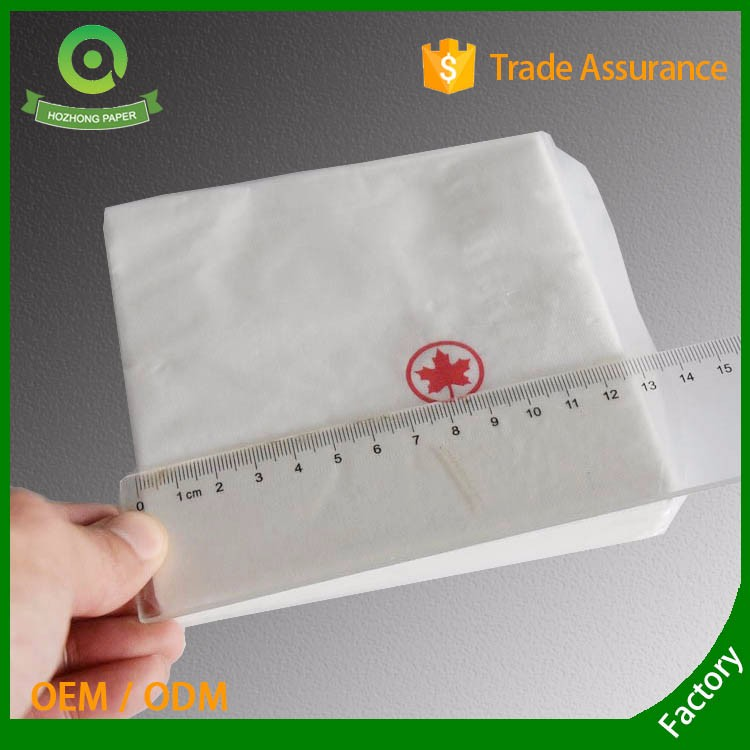 China Manufacturer White Custom Logo Paper Napkins