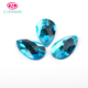 Wholesale China crystal 6x10mm Flat 2 hole drop rhinestone sew glass bead with clow sewing accessories