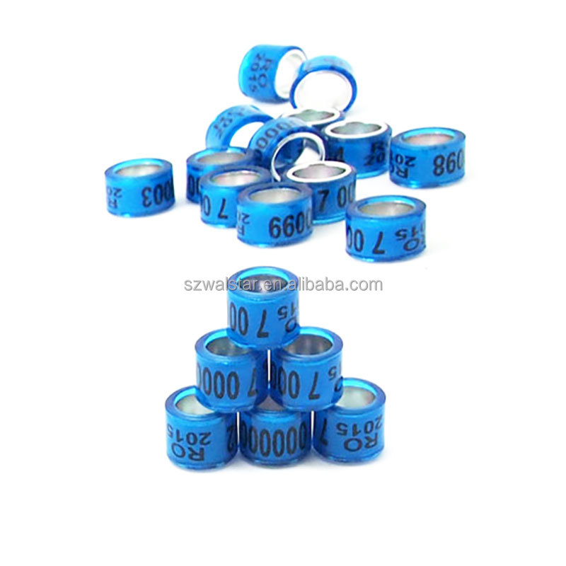 2018 Hot Sale Address Homing Rings For Pigeon