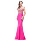Hot Sale Backless Bodycon Embroidered Evening Dress