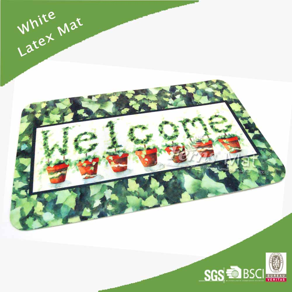 Print Design Latex Doormat